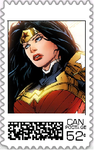 Wonder Woman Postage Stamp by WOLFBLADE111