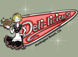 Deli-licious Logo by Asher-Bee