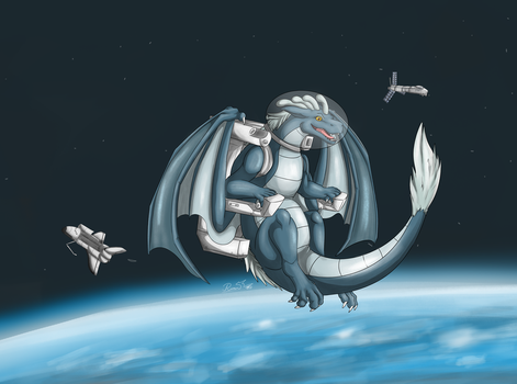 Lupi in the sky with diamonds by RimentusTheDragon