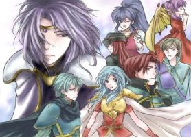 Fire Emblem Sacred Stones by currybread
