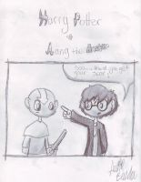 Harry and Aang: Talk by Austinbot101