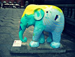 Copenhagen Elephant Parade 21 by Skorpiotronik