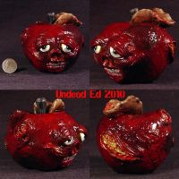 Rotten Fruit Apple Decoration by Undead-Art