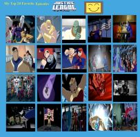 Jefimus Top 20 Justice League Episodes by JefimusPrime