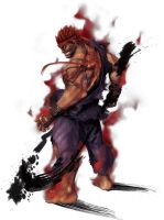 Johnny's Fantasy DLC Characters, Evil Ryu UMVC3 by JohnnyOTGS