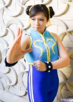 Chun Li Alpha cosplay by Lexy 3 by LexLexy