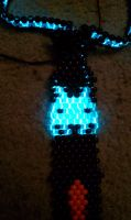 Light up kandi tie by halodiablo