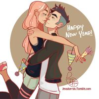 Happy New Year! by MeoMai