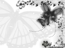 Classically butterfly by Cimoetz