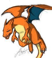 Charizard by Tiggstar