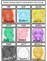 OC Color meme ~ by Fireflowermaiden