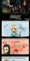 The Avengers Meme : Melody by Melo-Cake