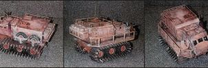Exploration Vehicle Model by Frohickey