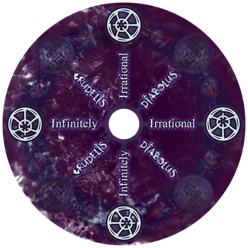 Infinitely Irrational CD Sticker by GoldenSin