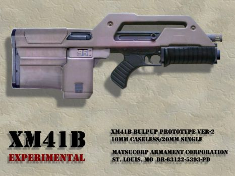 Pulse Rifle Bullpup by Matsucorp