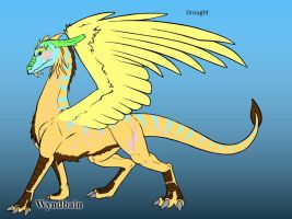 Drought the Dragon by trainman666