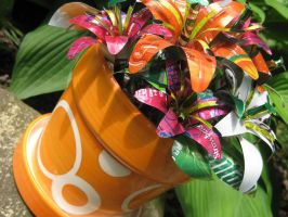 Recycled Soda Can Lily Group6 by Christine-Eige