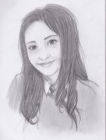 Potrait of Girl-Request by crisscrossrain