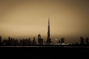 Dubai Skyline by pixmestudio