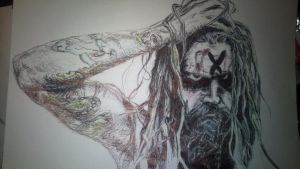 Rob Zombie by CharlieManson1