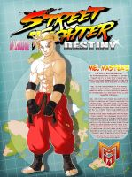 STREET FIGHTER DESTINY: Mel Masters by FooRay