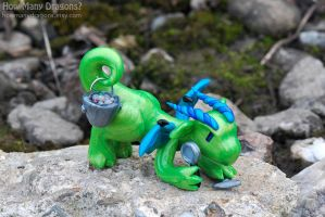 Rockhound Dragon's Outdoor Adventure by HowManyDragons