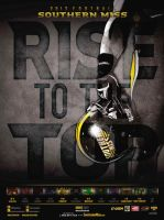 Southern Miss Football poster by Satansgoalie