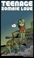 Teenage Zombie Love by MorganLuthi