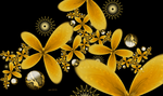Blooming Yellow at Night by 21citrouilles