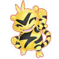Electabuzz v2 by Clinkorz