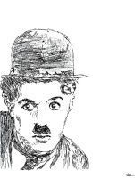 Charlie Chaplin by miss-chele