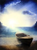 Life is like a boat. I found my shore by Mabiruna