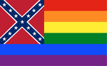 LGBT Confederate Flag by velocistar127