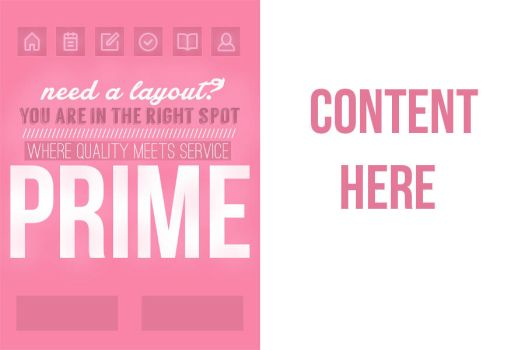 Layout preview for Prime. by maddieover