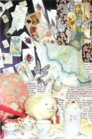 Alice in Wonderland Collage by daniellekenyon