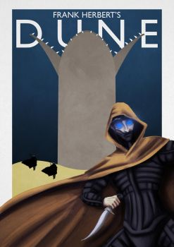 Dune poster by BacchusResurrexit