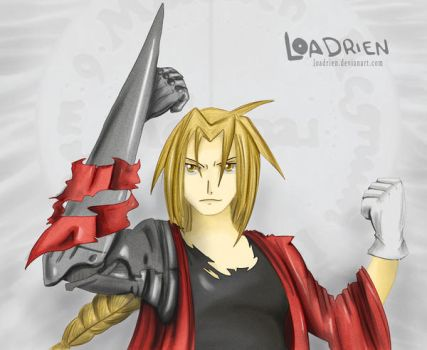 Edward Elric by Loadrien