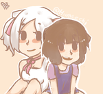 Lucy and Molly by Hiimecchi20