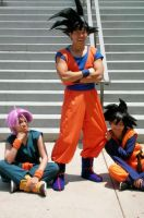 DBZ Cosplay - world tourny 2 by TechnoRanma