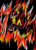 Wolf of Fire Digitized by Kins-Wolf