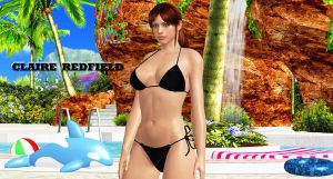 Claire Redfield      SWIMMING-INSTRUCTOR by blw7920