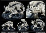 Commission : Kiva, the Ice Dragon by emilySculpts