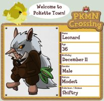 PKMN Crossing App - Leonard by Dr-Reggie