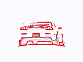 rx-7 outline by Itll-fit