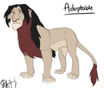 Lion Adopt by Bubba-Smith