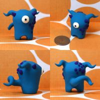 Kierce the Timid Monster by TimidMonsters