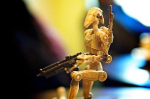 Battle droid portret II by BenKodjak