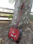 Adventure Time Marceline Guitar by meanlilkitty