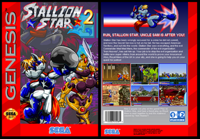 Stallion Star 2. Sega Genesis Box. by Virus-20