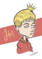 Game of Thrones - Joffrey Baratheon Caricature by LaserDatsun